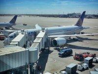 samoloty na lotnisku
