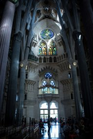 katedra w Barcelonia