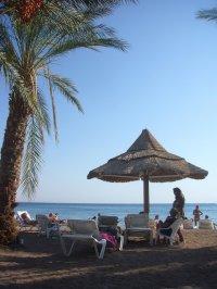 Plaża w ciepłych krajach