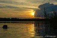 nad polskim jeziorem