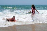 lazurowe morze