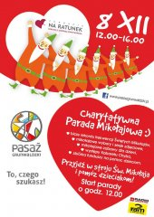 Charytatywna Parada Mikołajowa
